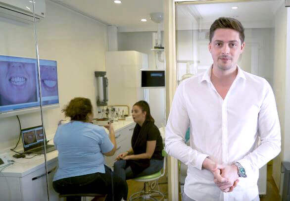 Alex George with Clinic Center Dentistry